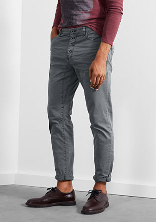 Liam Straight: casual coloured denim jeans from s.Oliver