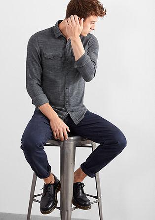 Extra Slim: Herringbone shirt from s.Oliver