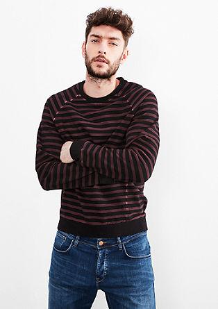 Cold pigment dyed sweatshirt