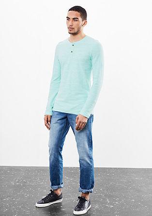 Shirt mit stylischer Knopfleiste