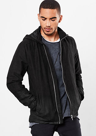 Suede-look jacket  from s.Oliver
