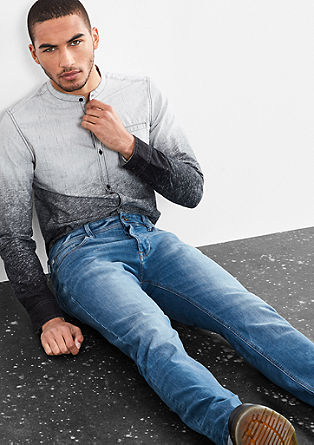 Rick Slim: blue jeans with button fly from s.Oliver