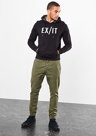 Rick Slim: Tracksuit bottoms from s.Oliver