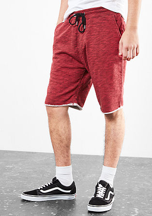 Sweat bermudas in a tracksuit bottoms style from s.Oliver