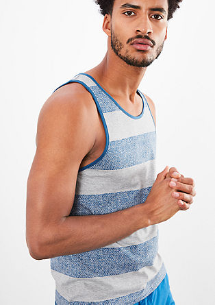 Striped tank top from s.Oliver