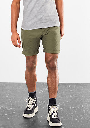 John Loose: cotton Bermudas from s.Oliver