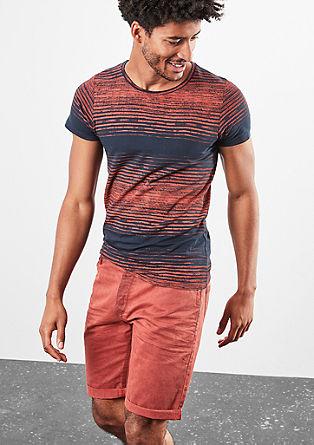 John Loose: Bermuda hlače, barvane s postopkom pigmentiranja