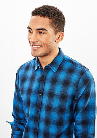 Extra Slim: mehka karirasta srajca
