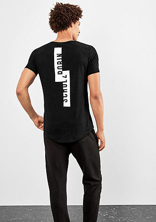T-Shirt mit Front- and Back-Print
