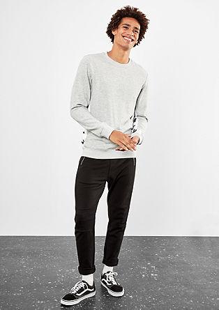 Sweatshirt mit Wording