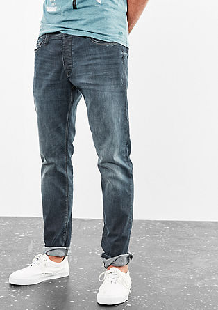 Rick Slim: trousers with a wash effect from s.Oliver