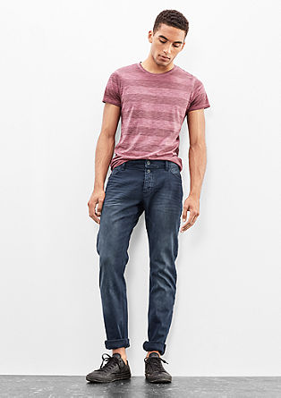 Rick Slim: coloured jeans from s.Oliver