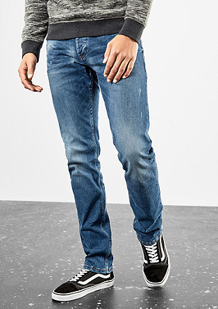 Rick Slim: Distressed Denim
