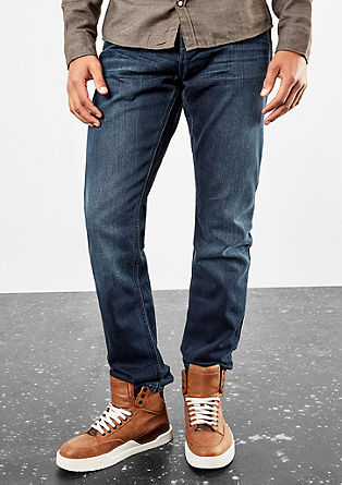 Pete Straight: coloured jeans from s.Oliver