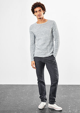 Rick Slim: sporty business trousers from s.Oliver