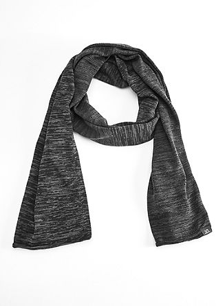 Melange cotton scarf from s.Oliver