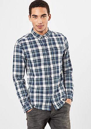 Extra Slim: srajca karirastega videza