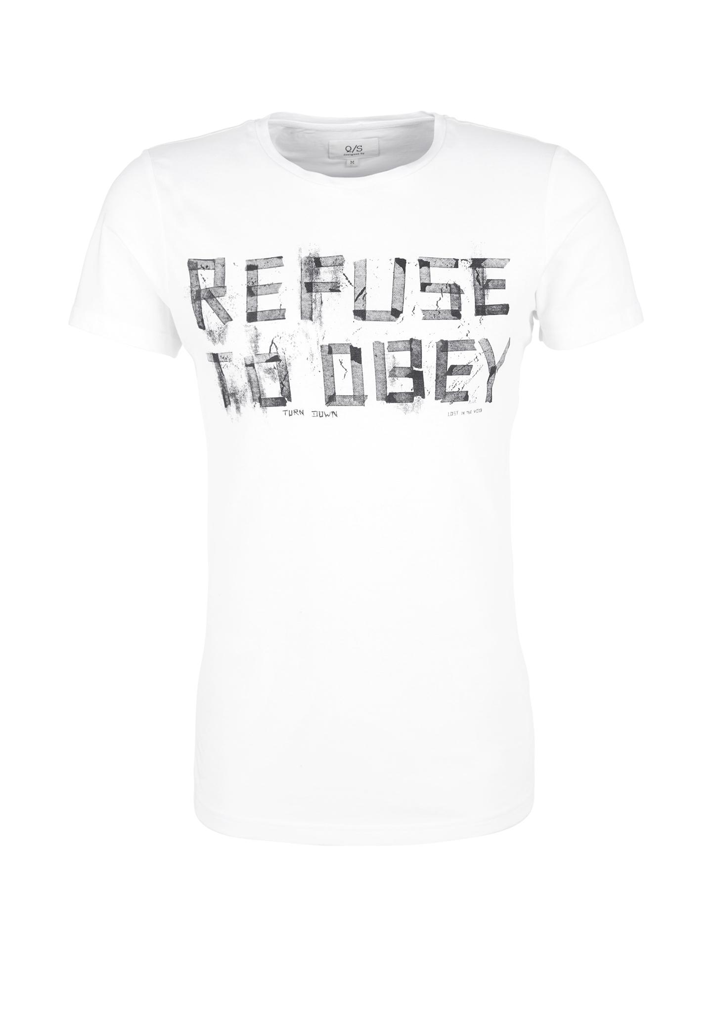 T-Shirt | Bekleidung > Shirts > Sonstige Shirts | Weiß | 100% baumwolle | Q/S designed by