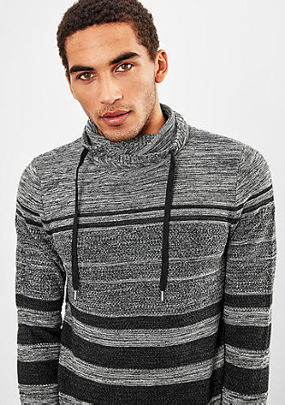Strickpullover mit Turtleneck