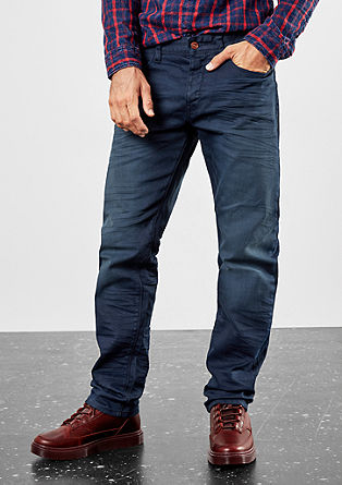 Pete Straight: dark denim jeans from s.Oliver