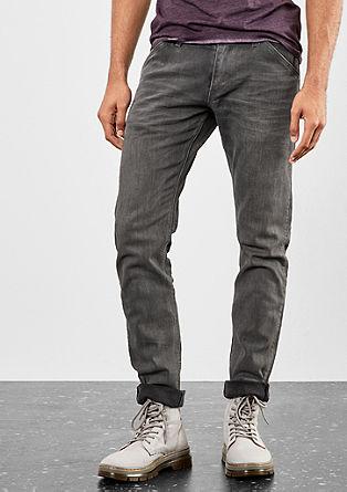 Rick Slim: Garment-washed denim from s.Oliver