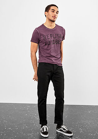 Pete Straight: Black denim from s.Oliver
