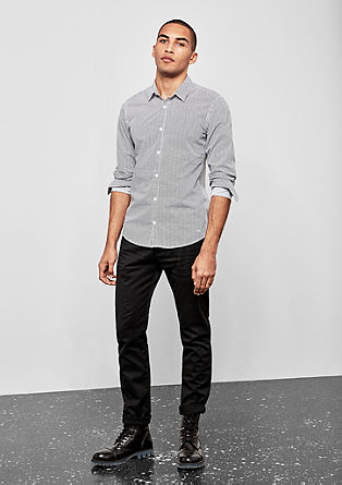 Rick Slim: Garment-dyed chinos from s.Oliver