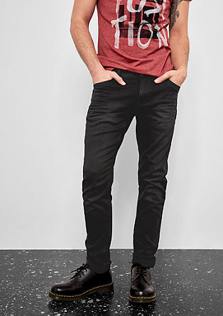 Gavin Skinny: Black Denim