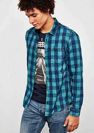Extra Slim: srajca s karirastim vzorcem