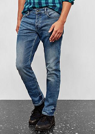 Rick Slim: jeans hlače obrabljenega videza