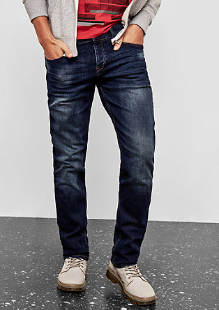 Pete Regular: jeans with a washed finish from s.Oliver