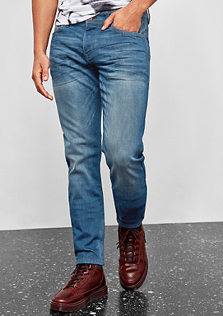 Rick Slim: jeans with a button fly from s.Oliver