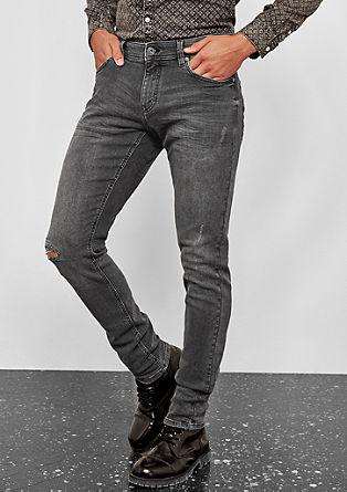Gavin Skinny: Used-Jeans