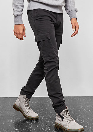Rick Slim: stylish cargo trousers from s.Oliver