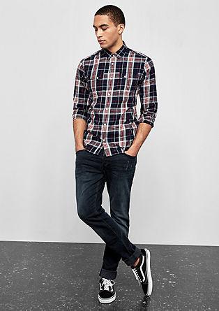 Extra Slim: karirasta srajca