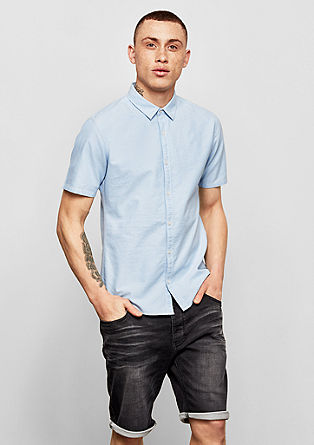 Extra Slim: Short sleeve Oxford shirt from s.Oliver