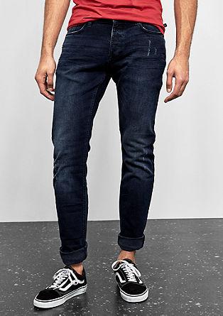 Rick slim: jeans in used look