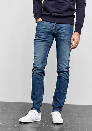 Rick Slim: Blue jeans from s.Oliver