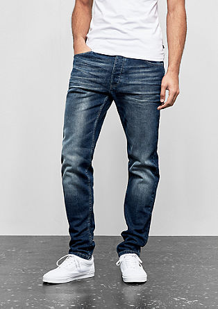 Liam straight: robuust denim