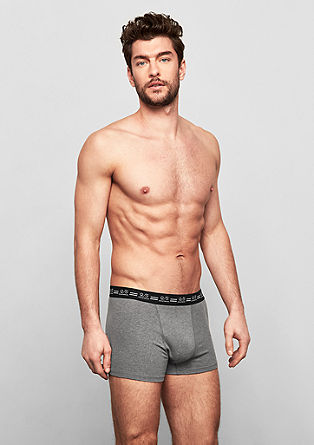 Lot de 3 boxers stretch en coton de s.Oliver