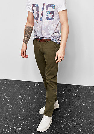 Rick Slim: stretch chinos from s.Oliver