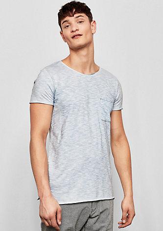 Pocket-Shirt mit Wascheffekt