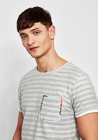 Majica s črtastim vzorcem