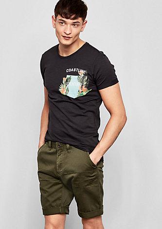 John Loose: Baumwoll-Shorts