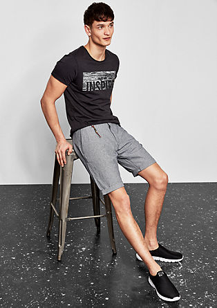 John Loose: cotton shorts from s.Oliver