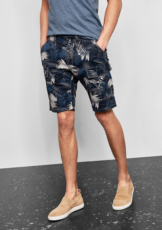 s.Oliver - John Loose: Lässige Cargo-Shorts - 5