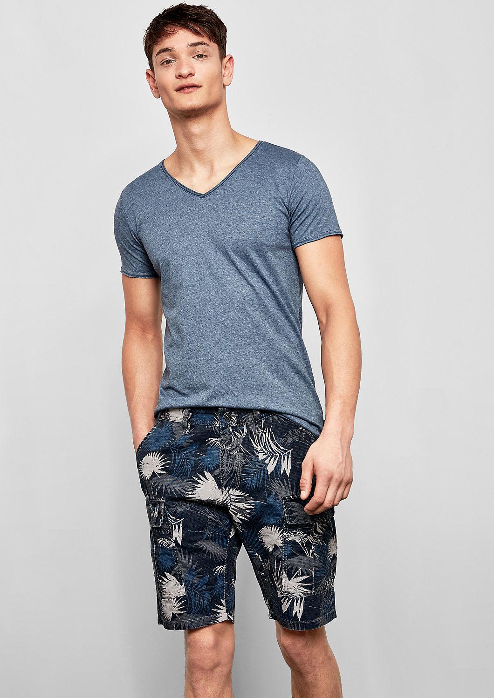 s.Oliver - John Loose: Lässige Cargo-Shorts - 1