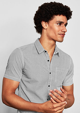 Extra Slim: košile s kravatovým vzorem