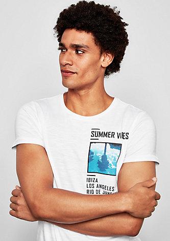 T-Shirt mit Summer Print