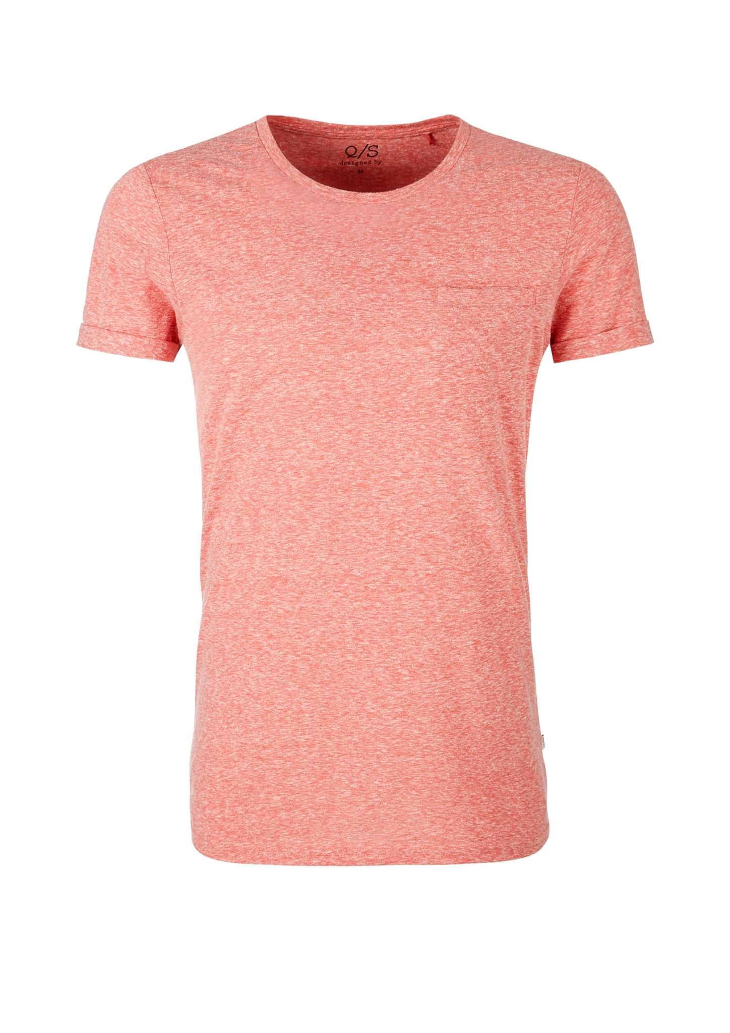 T-Shirt | Bekleidung > Shirts | Orange | 50% polyester -  38% baumwolle -  12% viskose | Q/S designed by